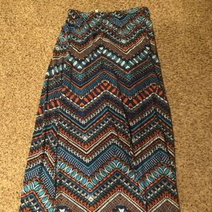 Ankle maxi skirt